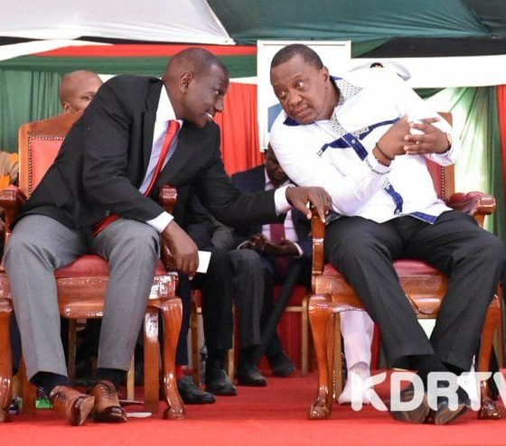 The rift between Uhuru and his Deputy Ruto becomes even more wider