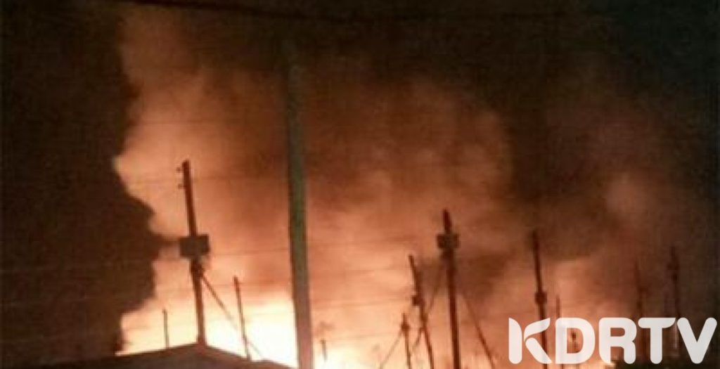 Woman torches over 40 houses in Kibra over love triangle