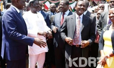 Ruto Raila and Musalia During a Past Function.