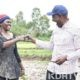 DP Ruto with Rice Farmer