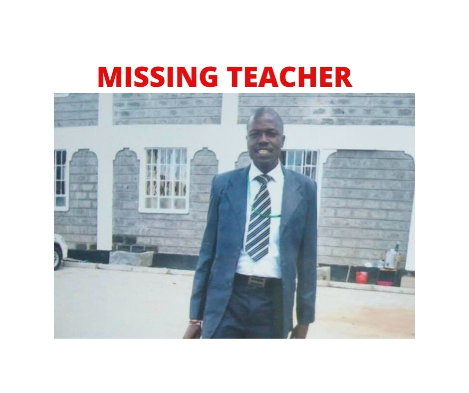 Missing teacher