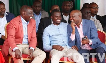 Ruto speech cut off
