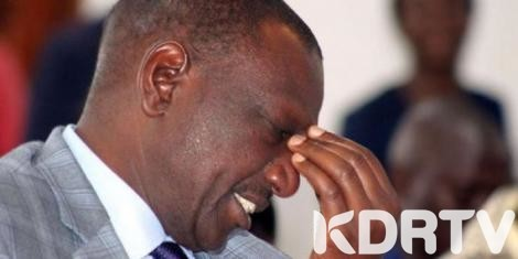 william ruto sad 0 0