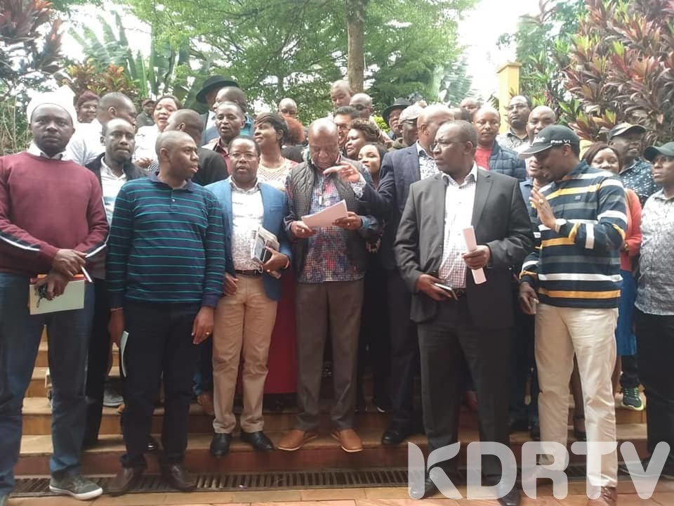 57 Mt. Kenya MPs Wants BBI Referendum held With 2022 General Election