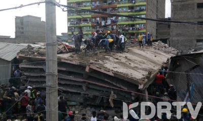 TASSIA ESTATE Several Feared Trapped After 6 Storey Building Collapses