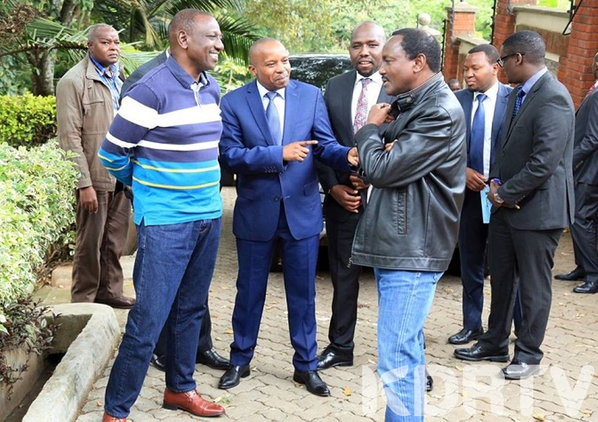 William Ruto with Kalonzo Musyoka 1
