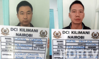 Chinese Caught On Camera Canning Kenyan Waiter Arrested