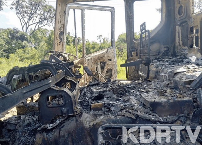 Two Vehicles Burnt During Al Shabaab Attack In Lamu