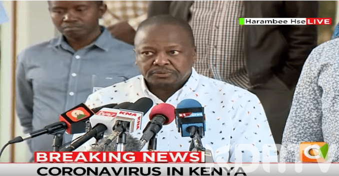 Kenya Confirms 8 New Positive Cases Of Coronavirus Total Cases Now 15