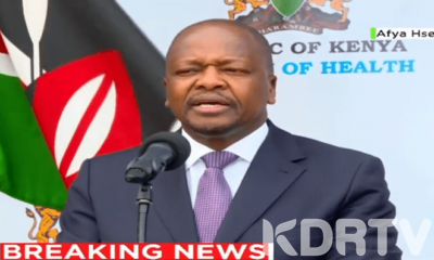 Kenya Confirms 4 News Cases Of Coronavirus Total Now 126