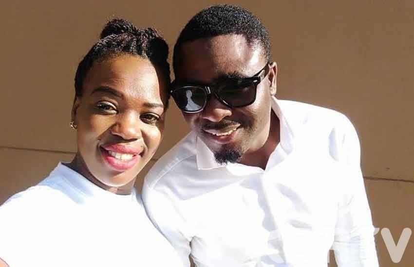 Ruth Matete with husband 0
