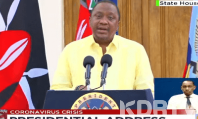 Uhuru Bans Movement In And Out Of Nairobi From Now